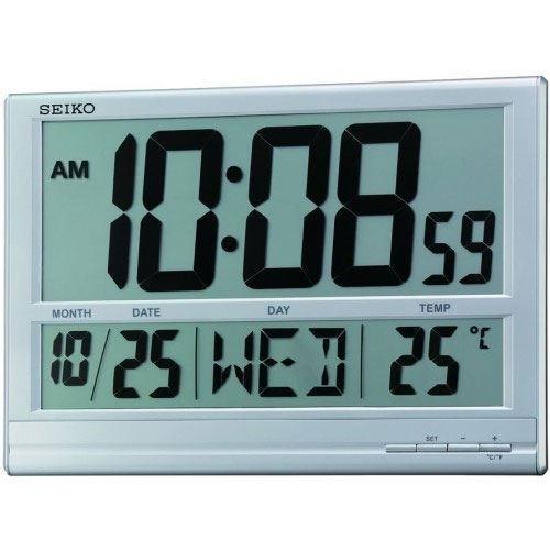 عکس نمای روبرو ساعت دیواری برند سیکو مدل QHL056SN