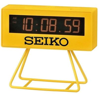 عکس نمای روبرو ساعت رومیزی برند سیکو مدل QHL073YL