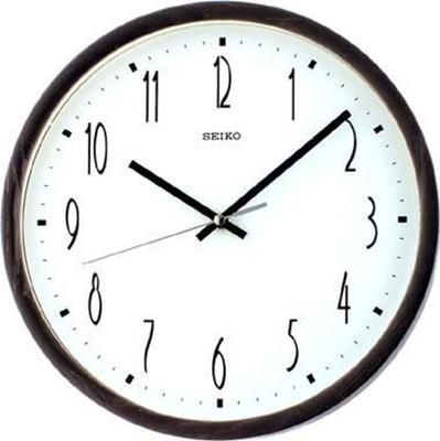 عکس نمای روبرو ساعت دیواری برند سیکو مدل QXA387BN