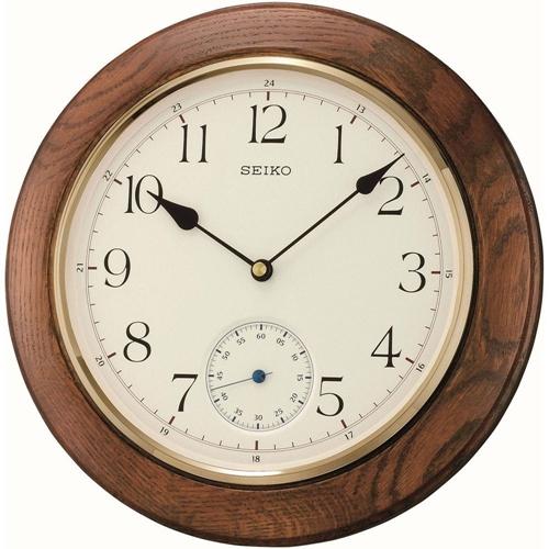 عکس نمای روبرو ساعت دیواری برند سیکو مدل QXA432BN