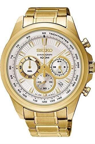 عکس نمای روبرو ساعت مچی برند سیکو مدل SSB254P1