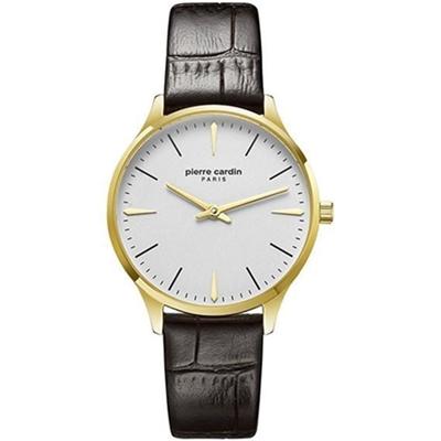 عکس نمای روبرو ساعت مچی برند پیر کاردین مدل PC902282F02