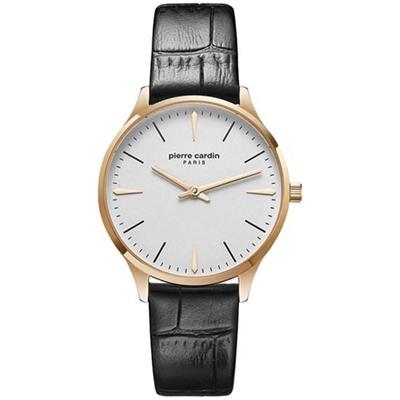 عکس نمای روبرو ساعت مچی برند پیر کاردین مدل PC902282F03