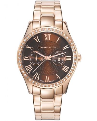 عکس نمای روبرو ساعت مچی برند پیر کاردین مدل PC107692S09