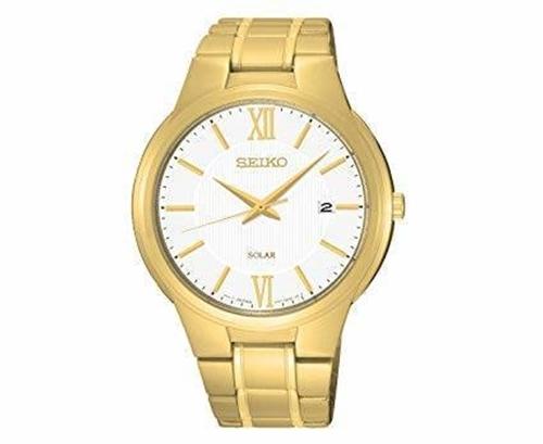 عکس نمای روبرو ساعت مچی برند سیکو مدل SNE390P1