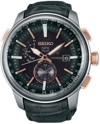 عکس نمای روبرو ساعت مچی برند سیکو مدل SAS038J1