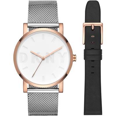 ساعت مچی برند دی کی ان وای مدل NY2663