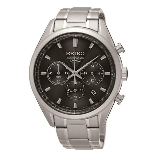 عکس نمای روبرو ساعت مچی برند سیکو مدل SSB225P1