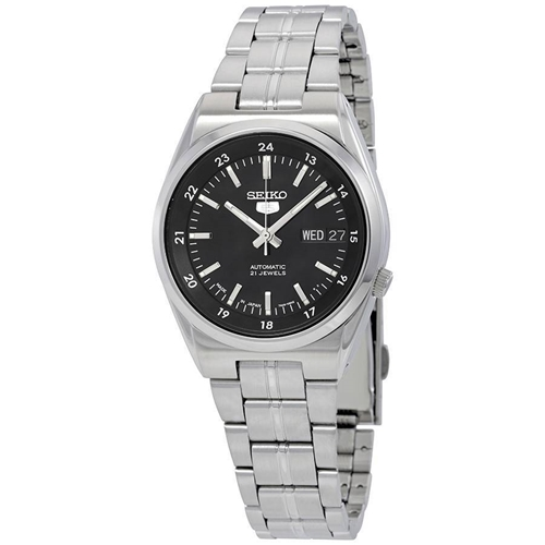 عکس نمای روبرو ساعت مچی برند سیکو مدل SNK567J1