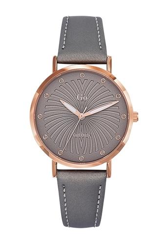 عکس نمای روبرو ساعت مچی برند جی او مدل 698778