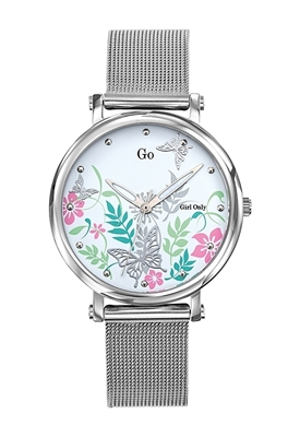 عکس نمای روبرو ساعت مچی برند جی او مدل 695184