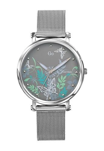 عکس نمای روبرو ساعت مچی برند جی او مدل 695185