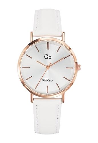 عکس نمای روبرو ساعت مچی برند جی او مدل 698943