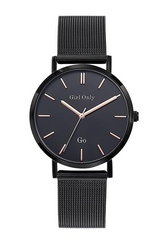 عکس نمای روبرو ساعت مچی برند جی او مدل 695993