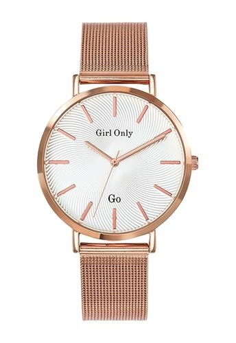عکس نمای روبرو ساعت مچی برند جی او مدل 695995