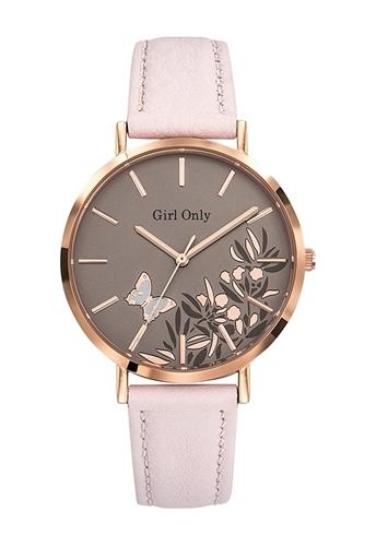 عکس نمای روبرو ساعت مچی برند جی او مدل 699091