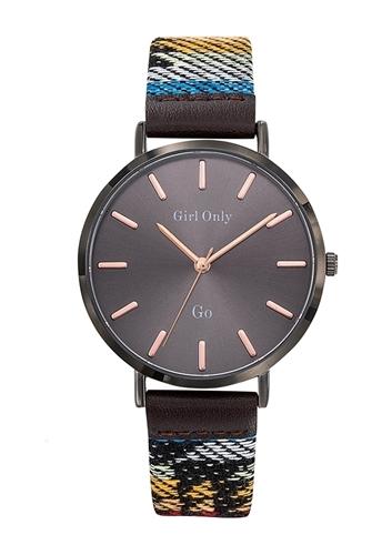 عکس نمای روبرو ساعت مچی برند جی او مدل 699149