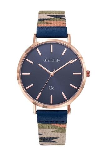 عکس نمای روبرو ساعت مچی برند جی او مدل 699146