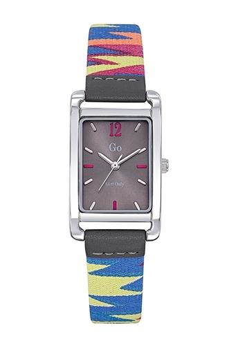 عکس نمای روبرو ساعت مچی برند جی او مدل 699141