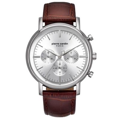 عکس نمای روبرو ساعت مچی برند پیرکاردین مدل PC902371F03