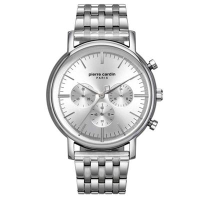 عکس نمای روبرو ساعت مچی برند پیرکاردین مدل PC902371F07