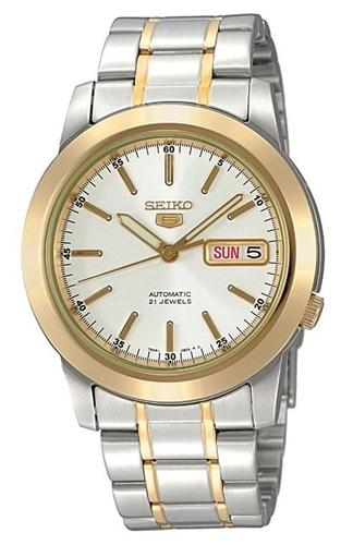 عکس نمای روبرو ساعت مچی برند سیکو مدل SNKE54J1