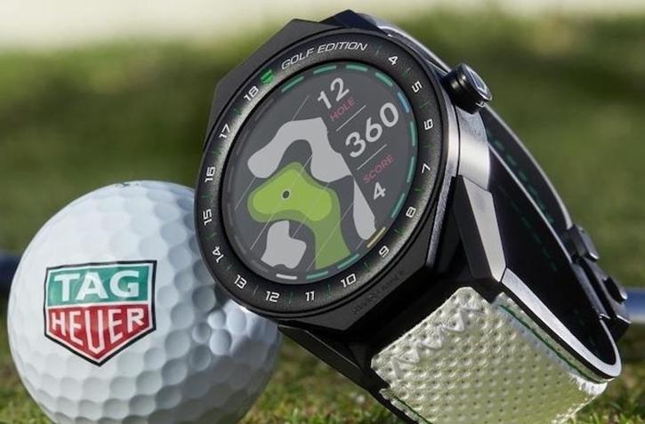 رونمایی از ساعت هوشمند گلف تگ هویر