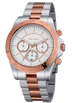 ساعت مچی برند تایم فورس مدل TF4192L15M