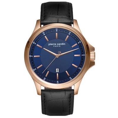 عکس نمای روبرو ساعت مچی برند پیرکاردین مدل PC902381F04