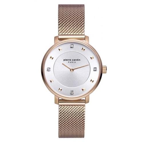 عکس نمای روبرو ساعت مچی برند پیرکاردین مدل PC902412F07