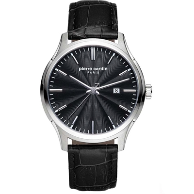 عکس نمای روبرو ساعت مچی برند پیرکاردین مدل PC902421F02