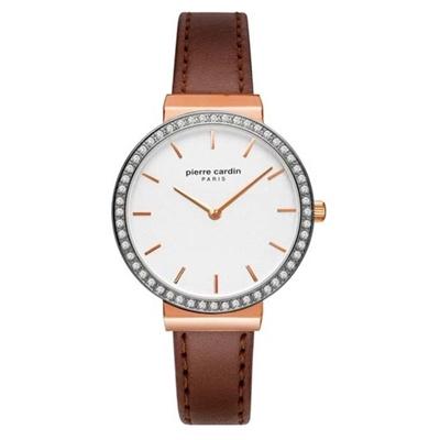 عکس نمای روبرو ساعت مچی برند پیرکاردین مدل PC902352F03
