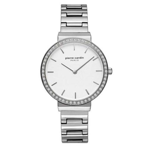 عکس نمای روبرو ساعت مچی برند پیرکاردین مدل PC902352F04