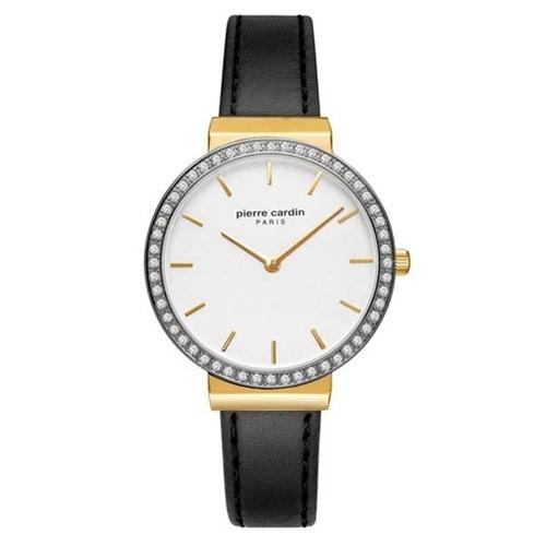عکس نمای روبرو ساعت مچی برند پیرکاردین مدل PC902352F02