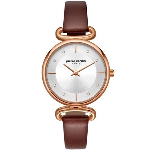 عکس نمای روبرو ساعت مچی برند پیرکاردین مدل PC902332F01