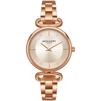عکس نمای روبرو ساعت مچی برند پیرکاردین مدل PC902332F07