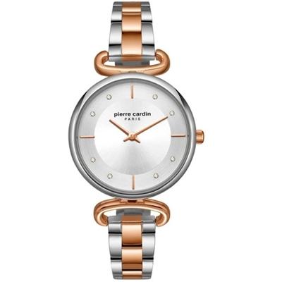 عکس نمای روبرو ساعت مچی برند پیرکاردین مدل PC902332F05