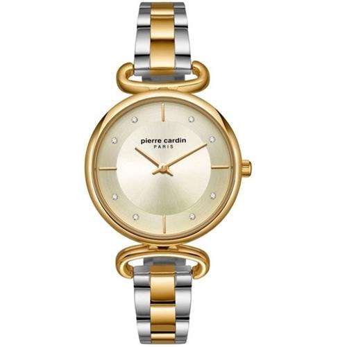 عکس نمای روبرو ساعت مچی برند پیرکاردین مدل PC902332F04