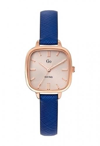 عکس نمای روبرو ساعت مچی برند جی او مدل 699289