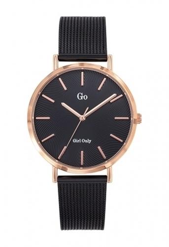 عکس نمای روبرو ساعت مچی برند جی او مدل 695999
