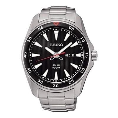 عکس نمای روبرو ساعت مچی برند سیکو مدل SNE393P1