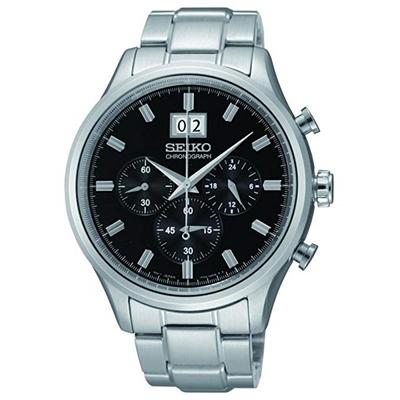 عکس نمای روبرو ساعت مچی برند سیکو مدل SPC083P1
