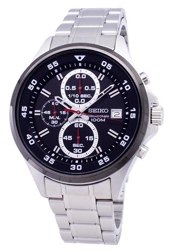 عکس نمای روبرو ساعت مچی برند سیکو مدل SKS633P1