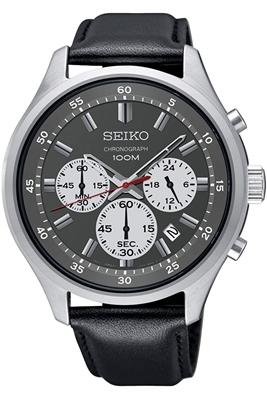عکس نمای روبرو ساعت مچی برند سیکو مدل SKS595P1