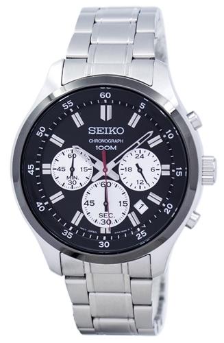 عکس نمای روبرو ساعت مچی برند سیکو مدل SKS593P1
