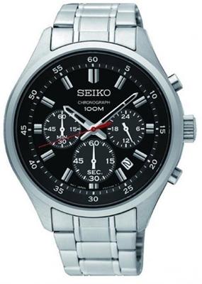 عکس نمای روبرو ساعت مچی برند سیکو مدل SKS587P1