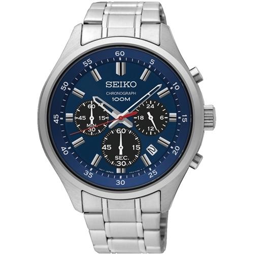 عکس نمای روبرو ساعت مچی برند سیکو مدل SKS585P1