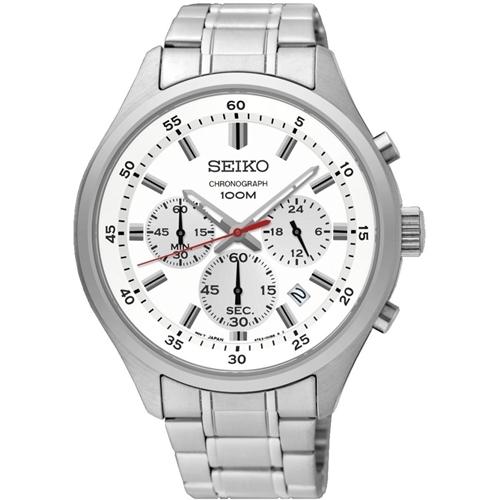 عکس نمای روبرو ساعت مچی برند سیکو مدل SKS583P1