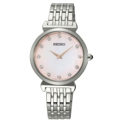 عکس نمای روبرو ساعت مچی برند سیکو مدل SFQ803P1