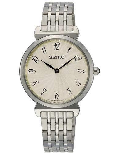 عکس نمای روبرو ساعت مچی برند سیکو مدل SFQ801P1